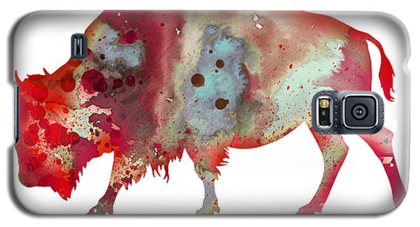 Bison Galaxy S5 Case - Bison by Watercolor Girl