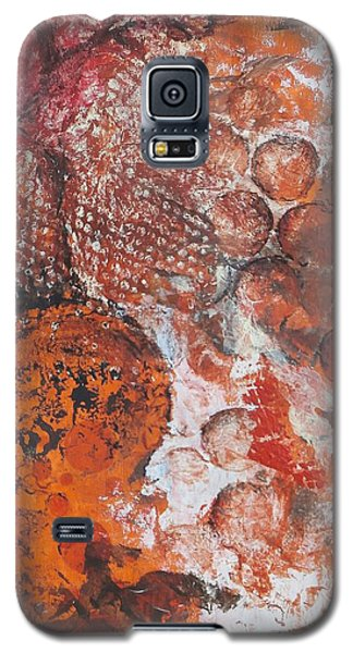 Galaxy S5 Case featuring the painting Bitter Pills by Buck Buchheister