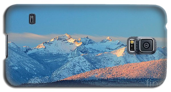 Bitterroot Mountain Morning Galaxy S5 Case