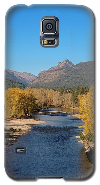 Bitterroot River Fall Galaxy S5 Case