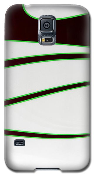 Galaxy S5 Case featuring the photograph Black And Green by Joe Kozlowski