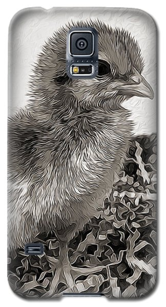 Black And White Baby Chicken Galaxy S5 Case