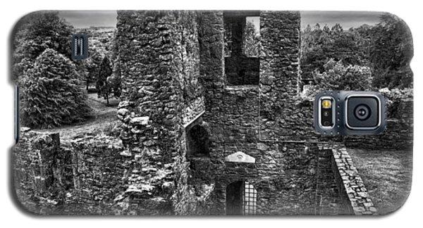 Black And White Castle Galaxy S5 Case