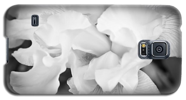 Black And White Hibiscus Galaxy S5 Case