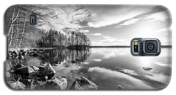 Black And White Landscape Galaxy S5 Case