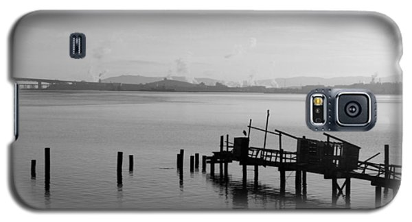 Black And White Oakland Bay Galaxy S5 Case