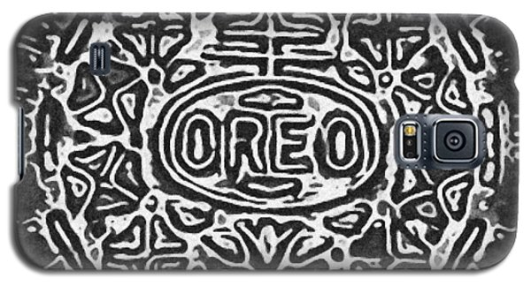 Black And White Oreo Galaxy S5 Case