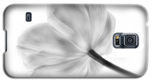Black And White Tulip Galaxy S5 Case