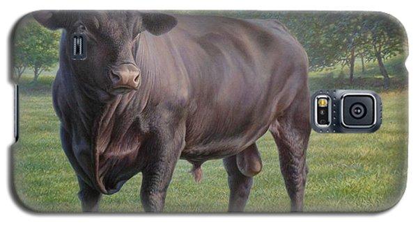 Black Angus Bull 2 Galaxy S5 Case