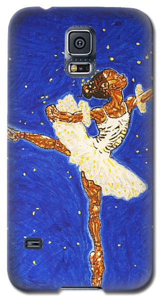 Black Ballerina Galaxy S5 Case by Stormm Bradshaw