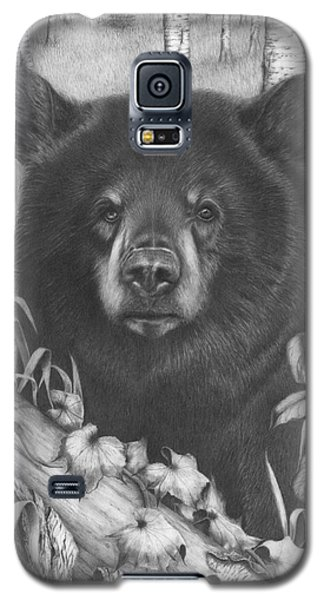 Black Bear On Newsome Creek Galaxy S5 Case