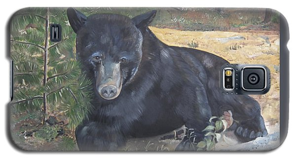 Black Bear - Wildlife Art -scruffy Galaxy S5 Case