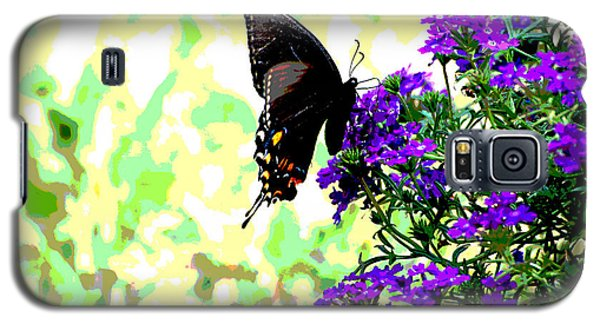 Galaxy S5 Case featuring the photograph Black Beauty by Linda Cox