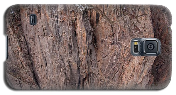 Galaxy S5 Case featuring the photograph Black Canyon Chasm View by Eric Rundle