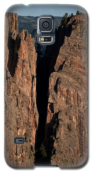 Galaxy S5 Case featuring the photograph Black Canyon Island View  by Eric Rundle