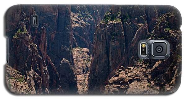 Galaxy S5 Case featuring the photograph Black Canyon The Narrows  by Eric Rundle