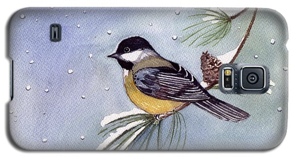 Black-capped Chickadee Galaxy S5 Case