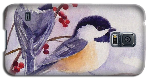 Black-capped Chickadees Galaxy S5 Case