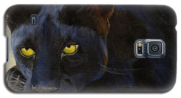 Black Cat Galaxy S5 Case