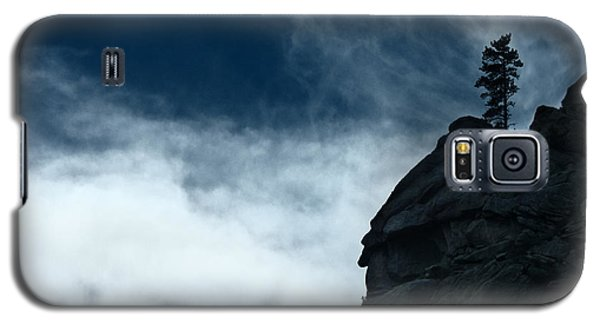 Galaxy S5 Case featuring the photograph Black Cliff by Dana DiPasquale