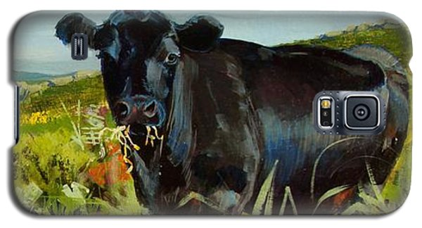 Black Cow Dartmoor Galaxy S5 Case
