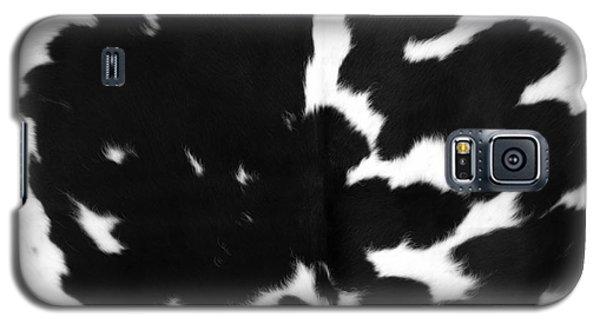 Galaxy S5 Case featuring the photograph Black Cowhide by Gunter Nezhoda