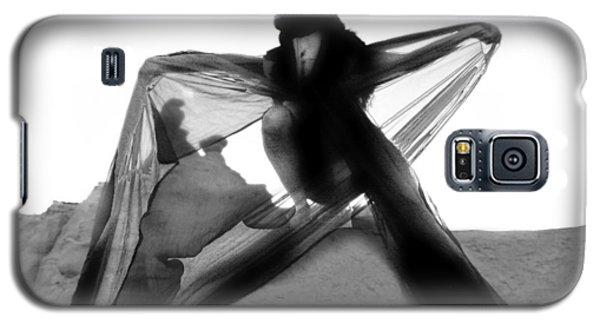 Black Crow 1 Galaxy S5 Case by Tarey Potter