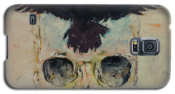 Black Crow Galaxy S5 Case by Michael Creese