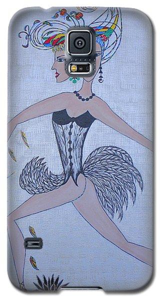 Black Dahlia Galaxy S5 Case by Marie Schwarzer
