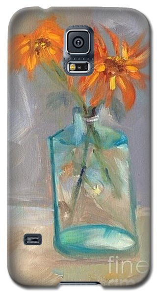 Black-eyed Susan Alla Prima Galaxy S5 Case