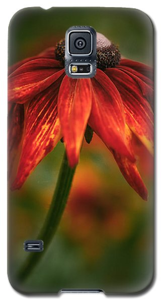 Galaxy S5 Case featuring the photograph Black-eyed Susan by Jacqui Boonstra