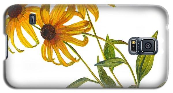 Black Eyed Susan - Rudbeckia Fulgida Galaxy S5 Case