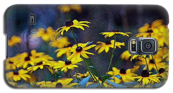 Galaxy S5 Case featuring the photograph Black-eyed Susans by Patricia Griffin Brett
