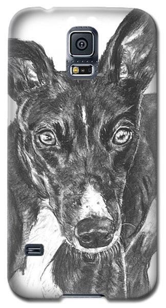 Black Greyhound Sketch Galaxy S5 Case