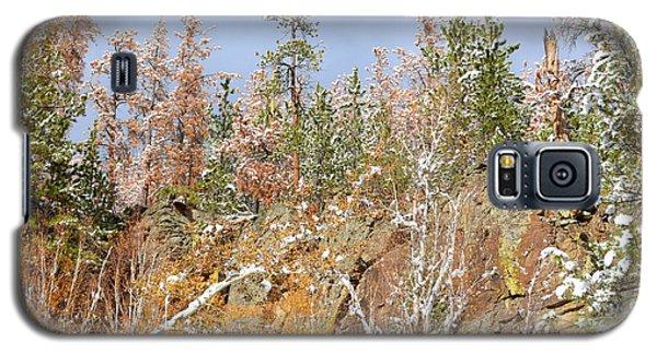 Black Hills Color Palette Galaxy S5 Case by Clarice  Lakota