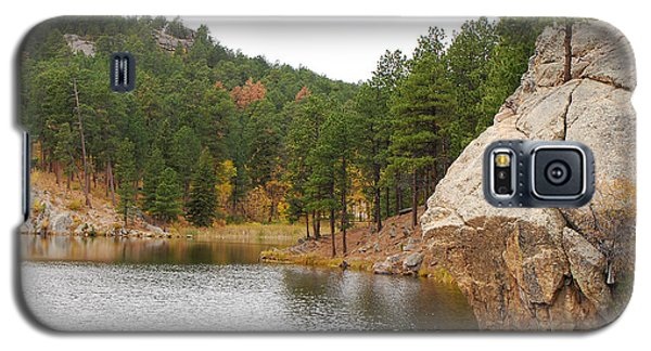 Galaxy S5 Case featuring the photograph Black Hills Lake by Mary Carol Story