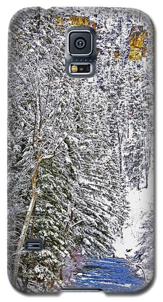 Black Hills Winter Galaxy S5 Case