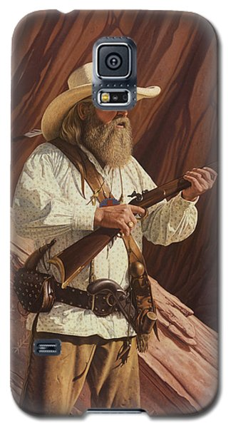 Galaxy S5 Case featuring the painting Black Kettle by Ron Crabb