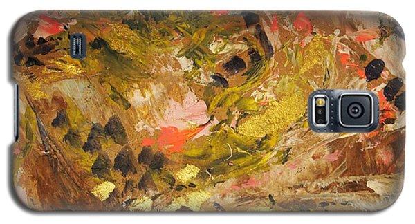 Black Lily Valley Galaxy S5 Case by Nancy Kane Chapman