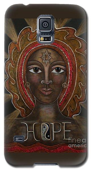 Black Madonna - Hope Galaxy S5 Case by Deborha Kerr