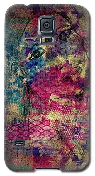 Black Magic Woman Galaxy S5 Case