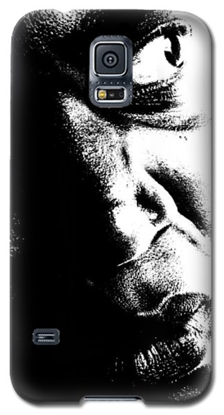 Black Miracle Portrait 12 Galaxy S5 Case
