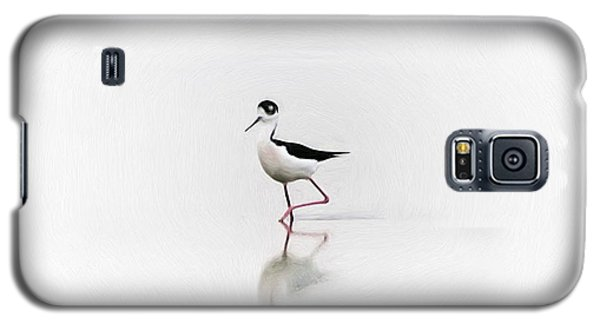 Black Necked Stilt Galaxy S5 Case