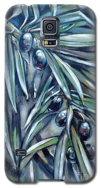 Black Olive Branch 200210 Galaxy S5 Case