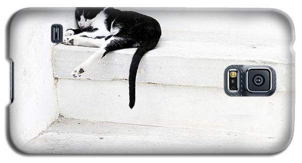 Black On White 2 Galaxy S5 Case