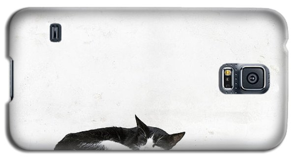 Galaxy S5 Case featuring the photograph Black On White by Lisa Parrish