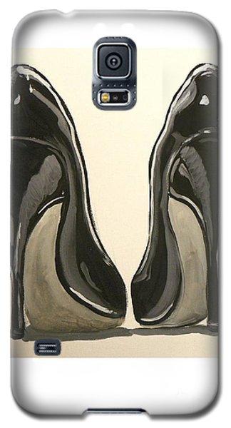 Black Pumps Galaxy S5 Case