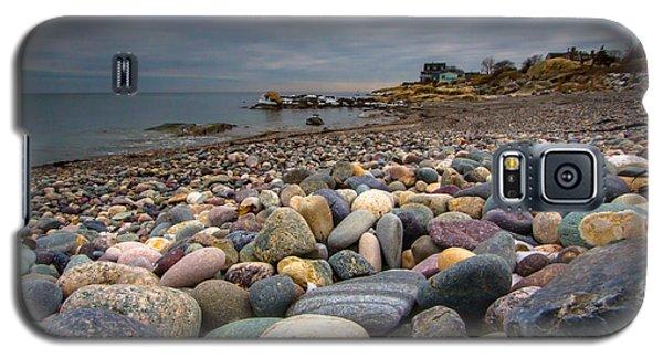 Black Rock Beach Galaxy S5 Case