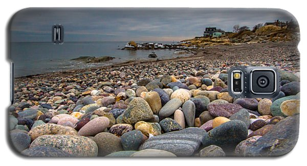 Black Rock Beach Galaxy S5 Case