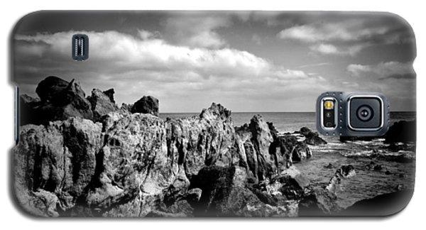 Black Rocks 3 Galaxy S5 Case